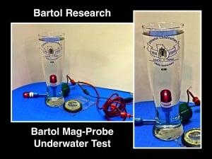Bartol Mag-Probe Underwater Test Lithium Battery Sealed Inside