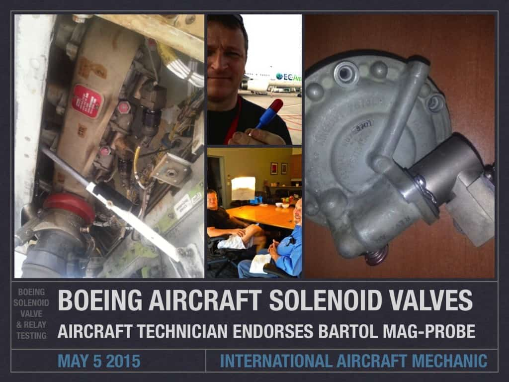 Boeing Aircraft Solenoid Valves and Relays (1)