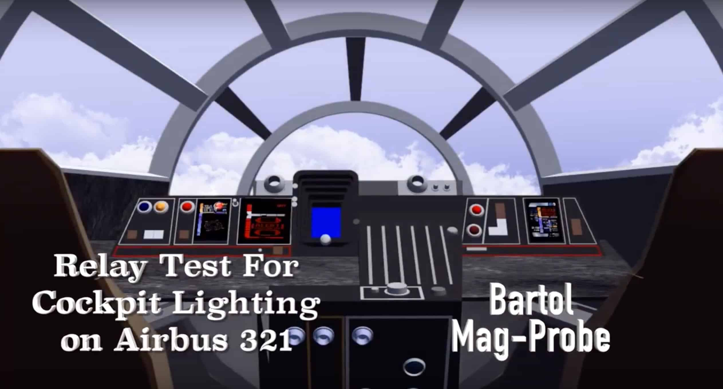 Relay Test For Cockpit Lighting On Airbus - Vehicle relay testing