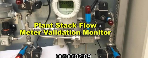 Plant Stack Flow Meter Validation Monitor - Video